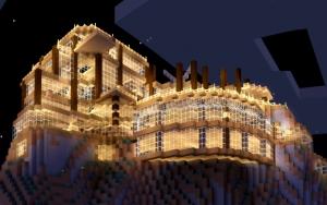 Особняк в Minecraft