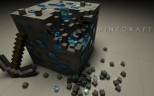 Minecraft 3d куб