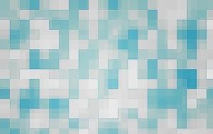 Бело-синяя клетка