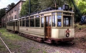 Старый трамвай