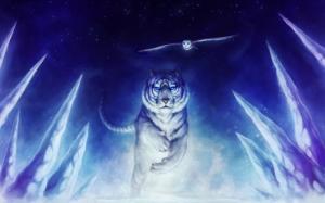 Фэнтези белый тигр