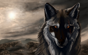 Фэнтези волк