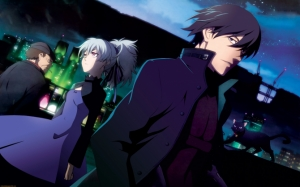 Персонажи аниме Темнее черного