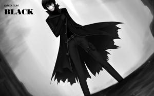Аниме Темнее черного