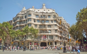 La Pedrera в Барселоне