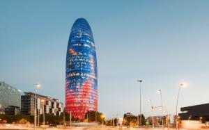 Агбарская башня в Барселоне