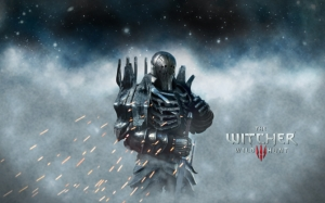The Witcher 3 воин в доспехах