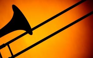 Силуэт тромбона