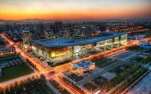 Большой торговый центр в Китае