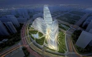 Проект зданий в Китае