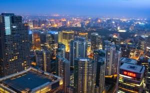 Пекин вид сверху