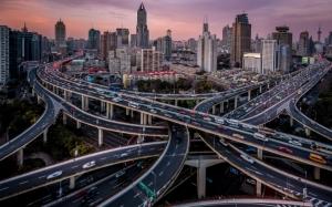 Дорожные развязки Шанхая