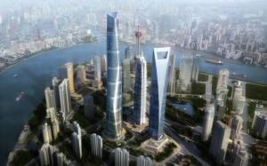Проект небоскребов Шанхая