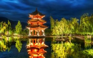 Старое здание в Китае