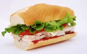 Сэндвич с куриным филе
