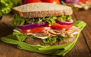 Аппетитный сэндвич