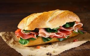 Сэндвич с хамоном