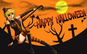 Хэллоуин в аниме стиле