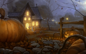 Ночью в Хэллоуин