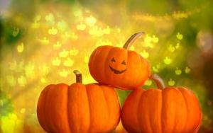 Позитивные тыквы на Хэллоуин