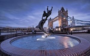 Фонтан в Лондоне