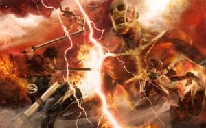 Аниме Вторжение титанов