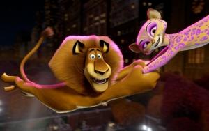 Алекс и Джиа в Мадагаскар 3
