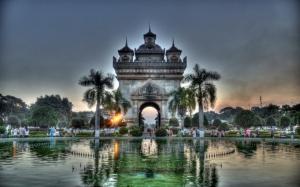 Арка в Лаосе