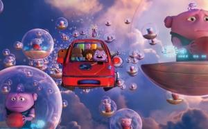 Мультфильм Дом летающий автомобиль