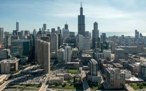 Чикаго вид сверху