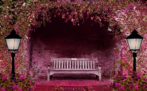 Старая скамейка