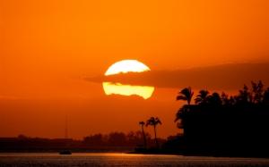 Солнце на закате
