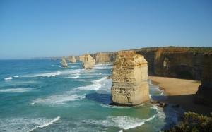 Скалистое побережье Австралии