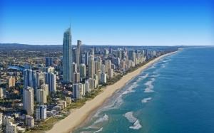 Рай для серферов Австралия
