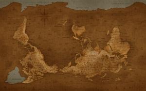 Перевернутая карта мира