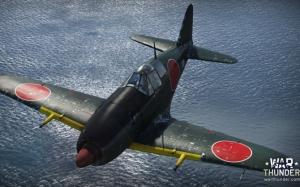 War Thunder японский самолет