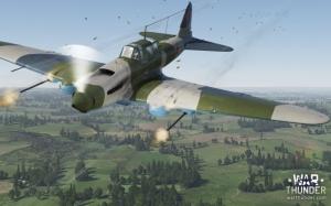 War Thunder истребитель