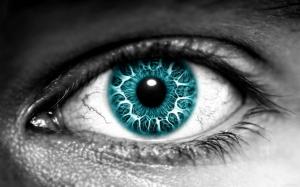 Темно-синий глаз