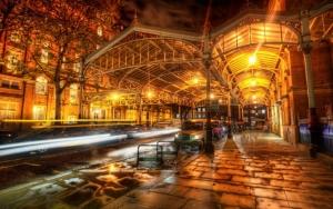 Улица Лондона ночью
