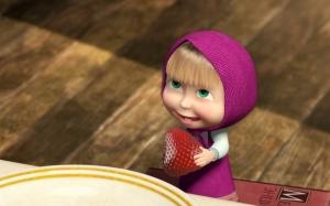 Маша с ягодой