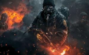 The Division огнеметчик