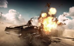 Mad Max взрыв