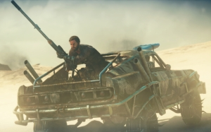 Mad Max со снайперской винтовкой