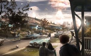 Fallout 4 взрыв