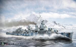 Эсминец USS Nicholas DD-449
