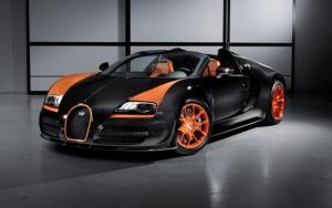 Суперкар Bugatti Veyron