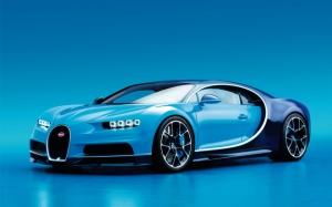 Новый Bugatti Chiron