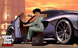 Grand Theft Auto V бизнес леди