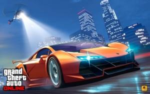Grand Theft Auto V погоня