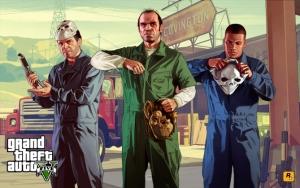 Grand Theft Auto V ограбление